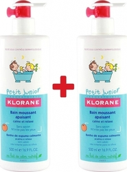 Klorane Petit Junior Bain Moussant à l'Orange Douce 2*500ml