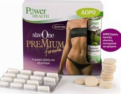 Power Health Size One Premium Formula 60s + Green Coffee 20tabs