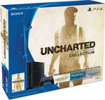 Sony Playstation 4 (PS4) C Chassis 500GB & Uncharted The Nathan Drake Collection