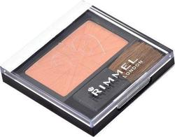 Rimmel Lasting Finish Powder Soft Color Blush With Brush 190 Coral