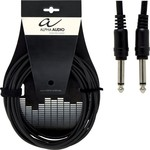 Alpha Audio Cable 6.3mm male - 6.3mm male 0.6m (190.310)