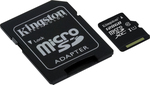 Kingston microSDXC 128GB U1 with Adapter (45MB/s)