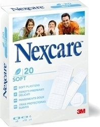 3M Nexcare Soft Strips 20τμχ