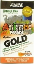 Nature's Plus Animal Parade GOLD 60tabs Πορτοκάλι