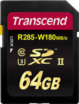Transcend Ultimate SDXC 64GB U3 285MB/s