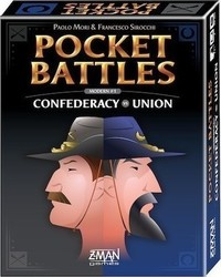 Z-Man Games Pocket Battles: Confederacy vs Union