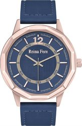 Reina Fere Blue Leather Strap 8826-2
