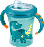 Nuk Easy Learning Starter Cup με Ρύγχος 200ml Μπλε, 6m+