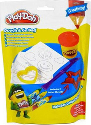 Hasbro Play-Doh Dough & Go Bag