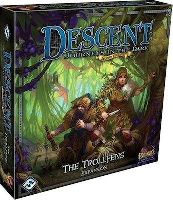 Fantasy Flight Descent Journeys In Dark: The Trollfens Expansion
