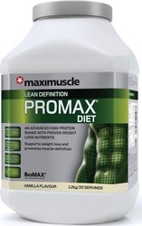 Maximuscle Promax Diet 1200gr Βανίλια