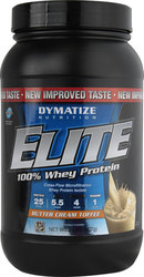 Dymatize Elite Whey Protein 2Lbs Butter Cream Toffee