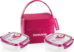 Miniland Pack 2 Go Pink