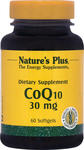 Nature's Plus CoQ10 30mg 60 μαλακές κάψουλες