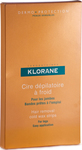 Klorane Hair Removal Cold Wax Strips With Sweet Almond 6τμχ.
