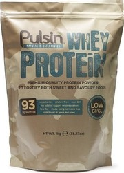 Pulsin Whey Protein Isolate 1000gr Unflavoured