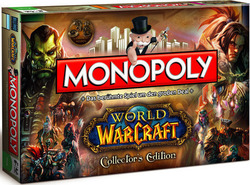 Winning Moves Monopoly: World Warcraft Collector's Edition