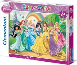 Disney: Butterfly Princess 104pcs Clementoni