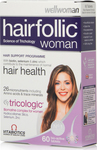 Vitabiotics Wellwoman Hairfollic (Tricologic) 60 ταμπλέτες