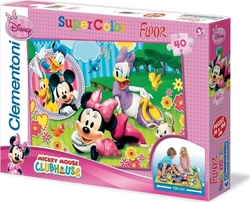 Disney: Minnie Mouse 40pcs Clementoni