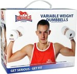 Lonsdale Officially Licensed Lonsdale Workout Dumbbells Wii