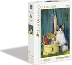 High Quality Collection: The Cat 500pcs (30345) Clementoni