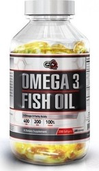 Pure Nutrition Omega 3 Fish Oil 200 μαλακές κάψουλες