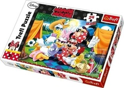 Minnie & Friends: Camping 24pcs (14220) Trefl