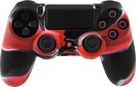 OEM Silicone Case Red/Black Dualshock PS4