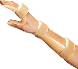 Vita Plastic Forearm-wrist Splint With Thumb 03-2-105