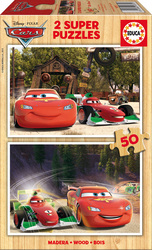 Disney: Cars 2, 2x50pcs (16372) Educa