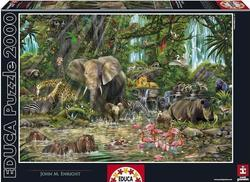 African Jungle 2000pcs (16013) Educa