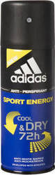 Adidas Sport Energy Cool & Dry 72H Anti-Perspirant 150ml