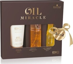 Schwarzkopf Professional BC Oil Miracle Light Xmas Pack