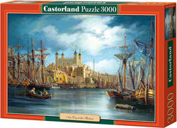 New Day at the Harbour 3000pcs (c-300167) Castorland