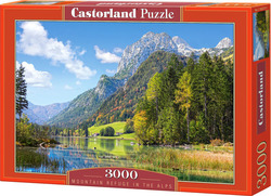 Mountain Refuge in the Alps 3000pcs (C-300273) Castorland