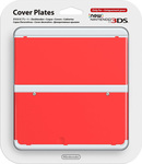 Nintendo Cover Plate 018 Red New 3DS