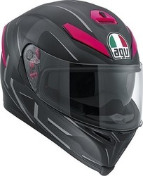 AGV K-5 You Black Matt Fuxia