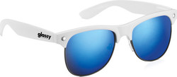 Glassy Sunhaters Shredder White/Blue Mirror