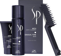 Wella Sp Men Gradual Tone Pigment Kit Μαύρο