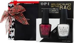 OPI Holiday Glam's In The Bag (Bogota Blackberry & Funny Bunny)