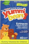 Hero Nutritionals Yummi Bears Echinacea + Vitamin C & Zinc 40 μασώμενες ταμπλέτες