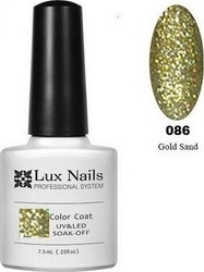 Lux Nails Gold Sand No 086