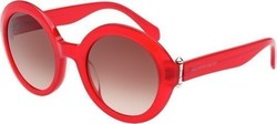 Alexander McQueen AM 0002S 004 Red Brown Shaded