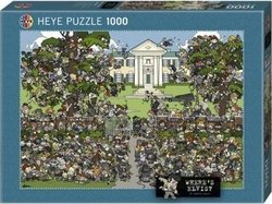 Lalic Where's Elvis Graceland 1000pcs (29419) Δεσύλλας