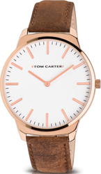 Tom Carter Cruise Rose Gold Leather TOM600L004R