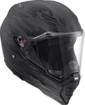 AGV AX-8 Naked Carbon Fury Black