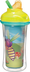 Munchkin Κύπελλο Click Lock Insulated Flip Straw Bee 266ml, 12m+
