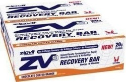 Zipvit ZV9 Protein Recovery Bar 15 x 65gr Σοκολάτα Πορτοκάλι