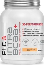 PhD Nutrition Intra BCAA + 450gr Coconut & Mango